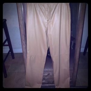 Nine West leather pants
